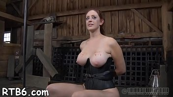 torture dom fem Throat banged until she is red and sloppy