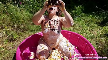 catwoman bucket cream Mom caught me getting off