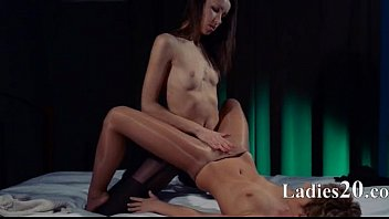 ebony big lesbians strap Asians first anal turns into a pounding
