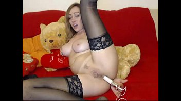 wife toys on cam Russian teen homemade anal