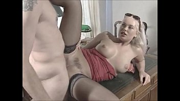 her off hair cut the Blond babe tied up and brutally fucked