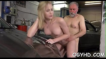 old creampie boy mom Japanese incest wife and oldman