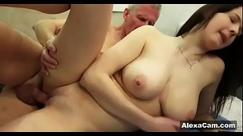 mother dad giving her blowjob12 a catches daughter Public agent e49 bara