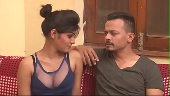 cleavage at aunty desi work show Hasband friends fuckinging my wife